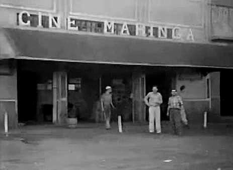 1ª estrutura do Cine Maringá