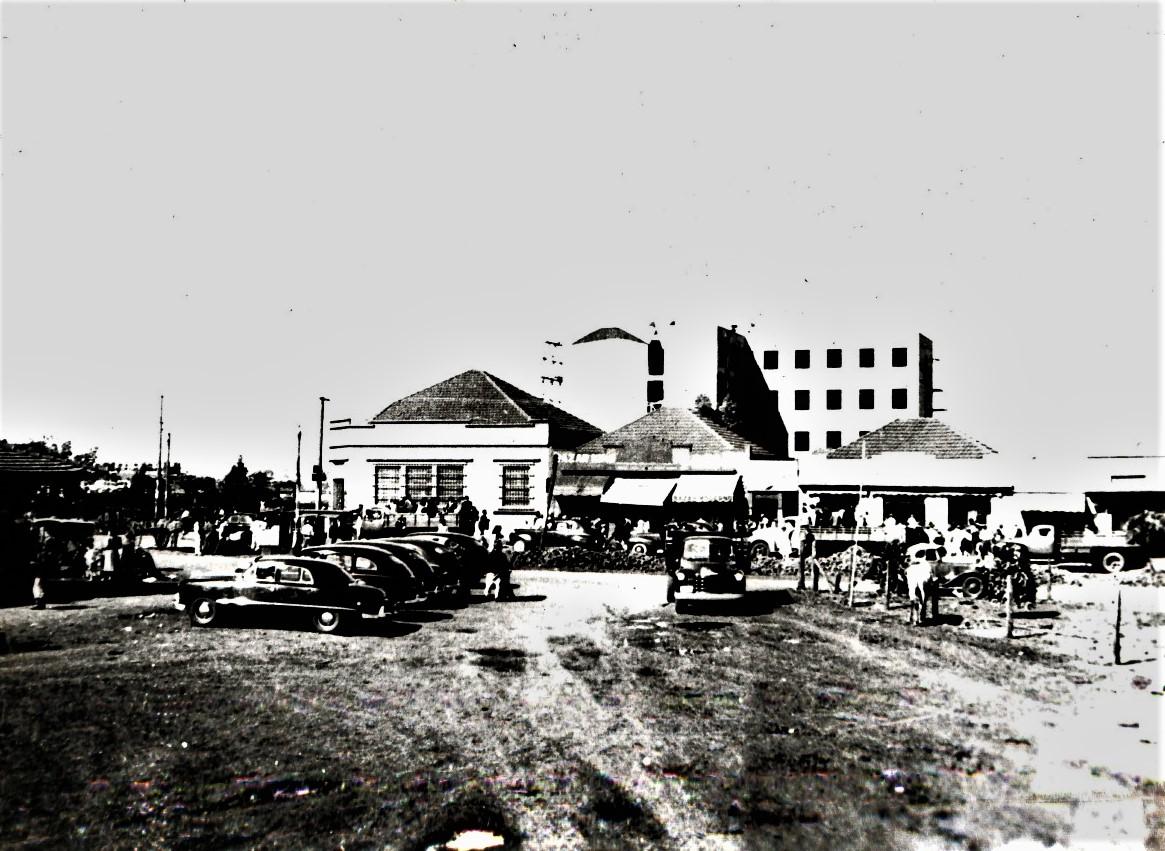 Praça da Rodoviária - Início dos anos de 1950
