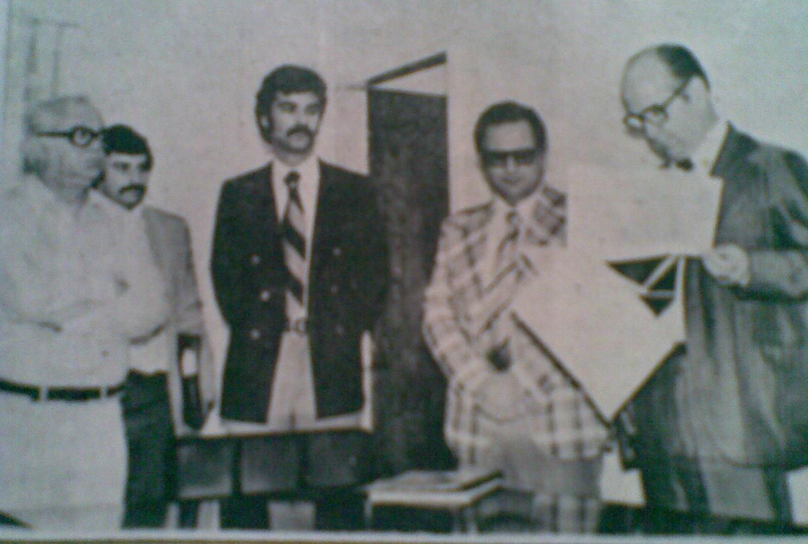 UEM inaugura NDE - 1977