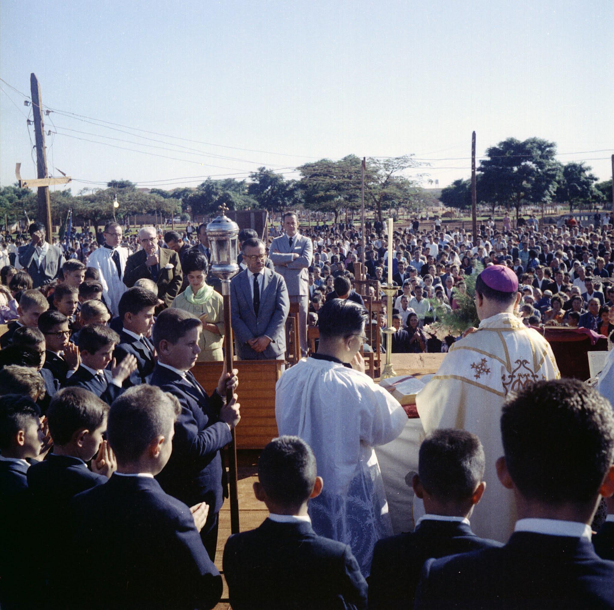 Missa campal - Início da década de 1960