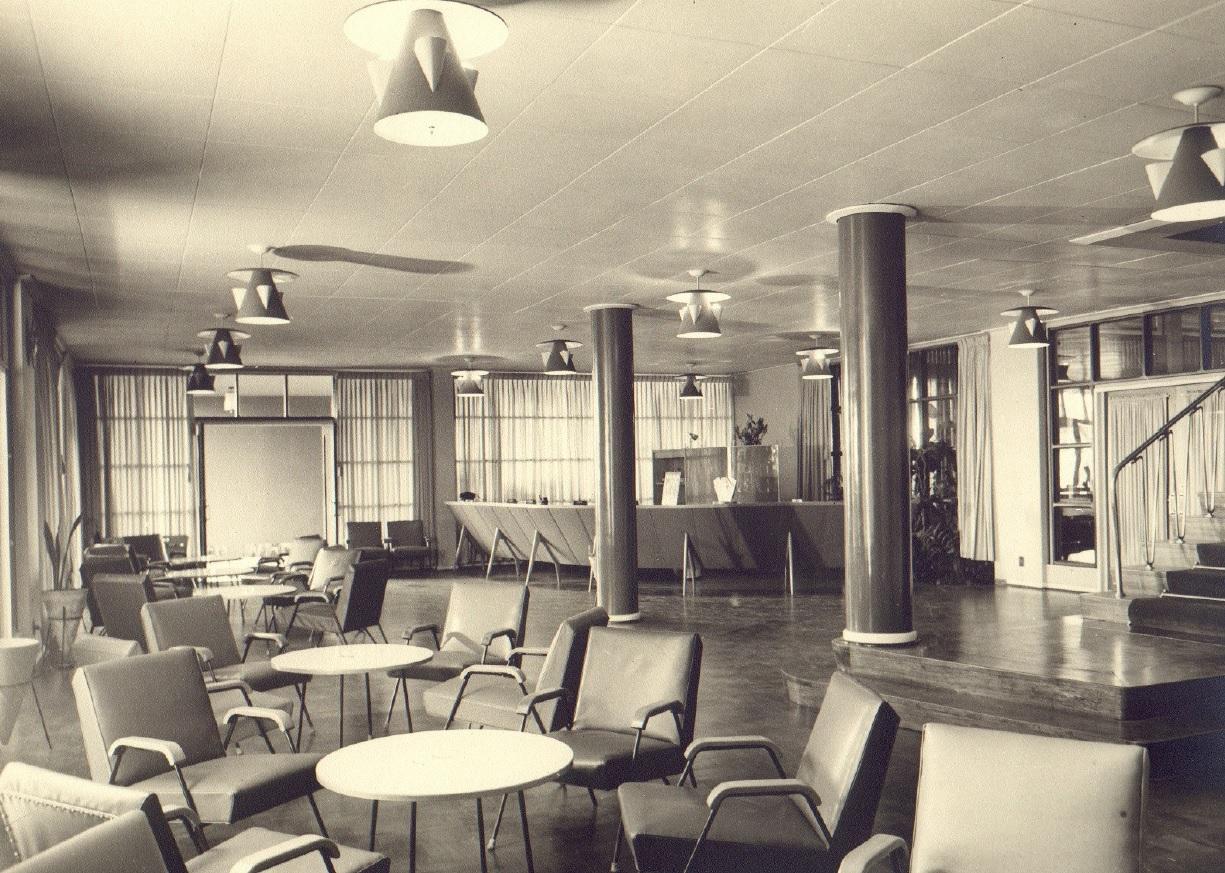 Recepção do Grande Hotel Maringá - Década de 1950