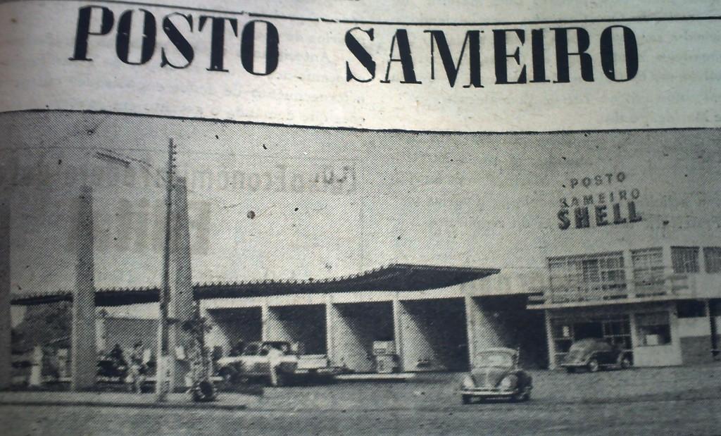 Posto Sameiro - Década de 1960