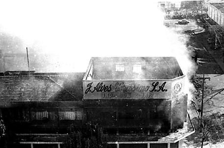 Incêndio na J. Alves Veríssimo - 1971