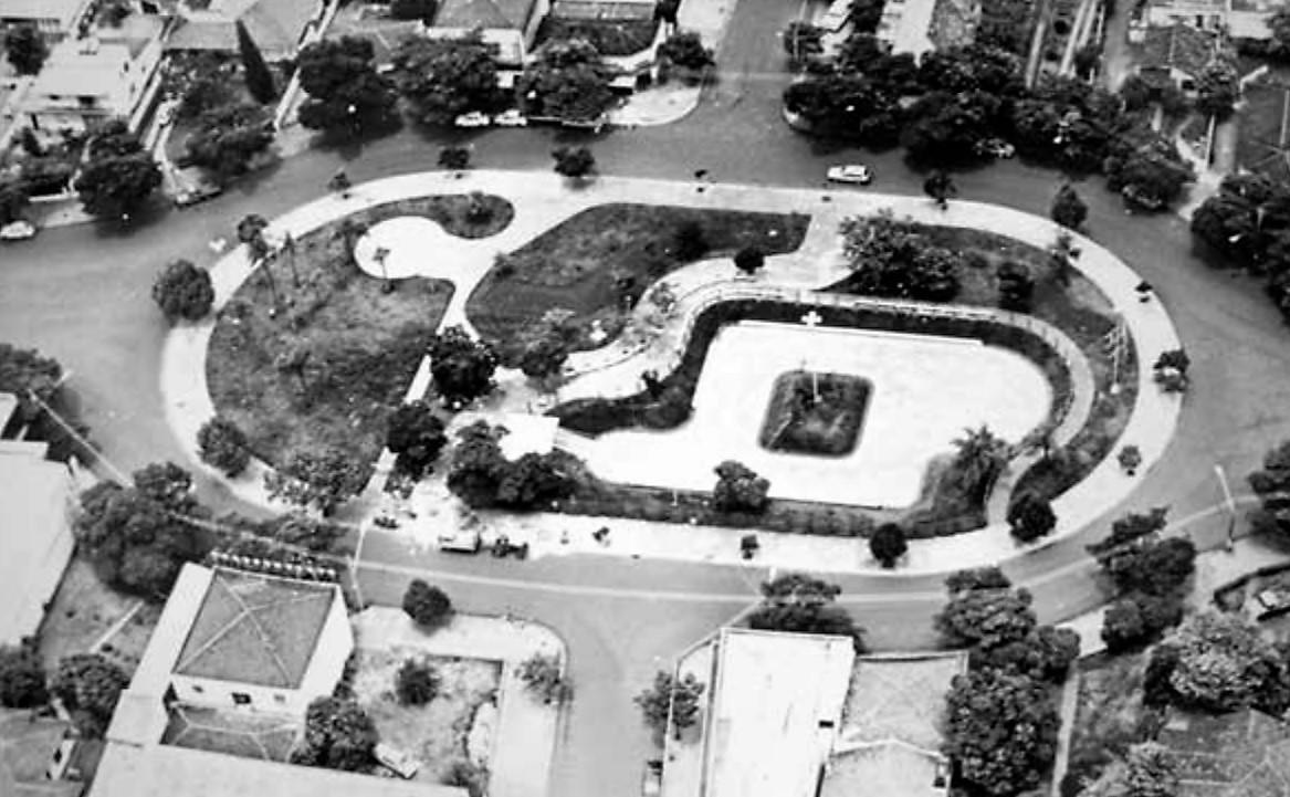 Praça Pedro Álvares Cabral - Década de 1980