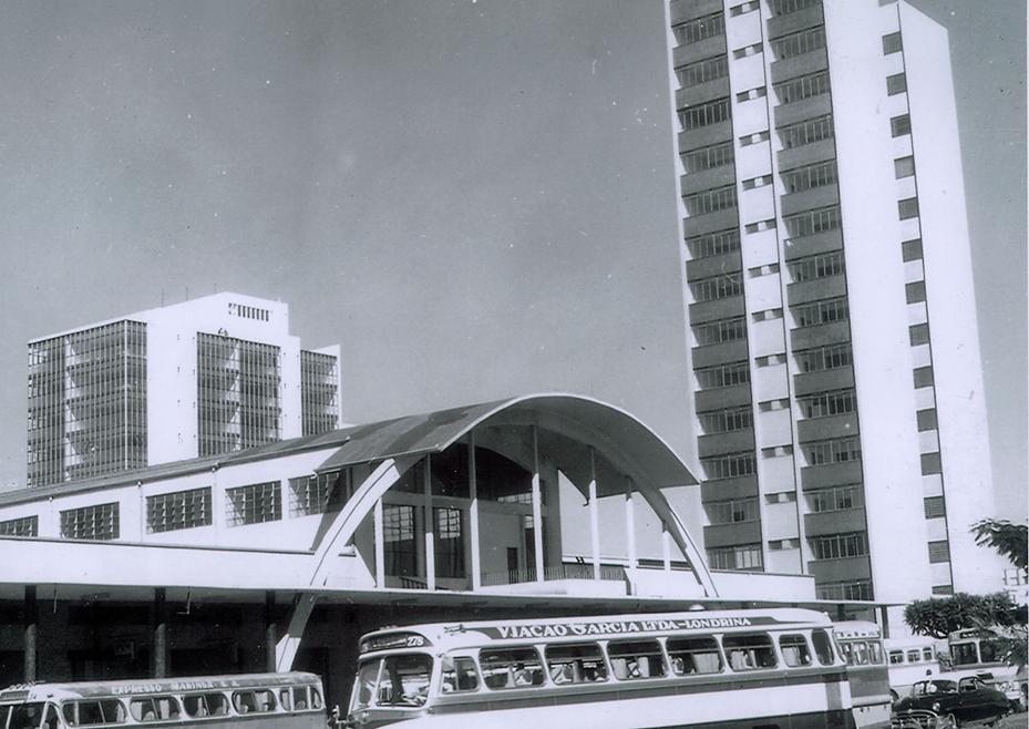 Rodoviária Municipal - Década de 1960