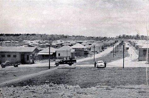 Avenida Brasil x Praça Rocha Pombo - Década de 1950