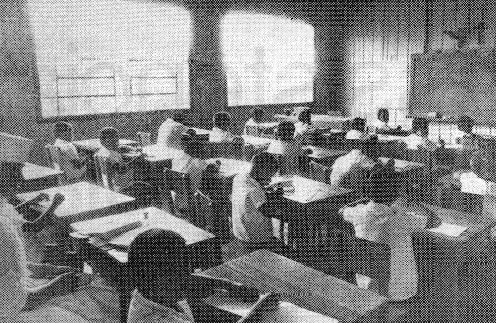 Sala de aula - Lar Escola - Década de 1960