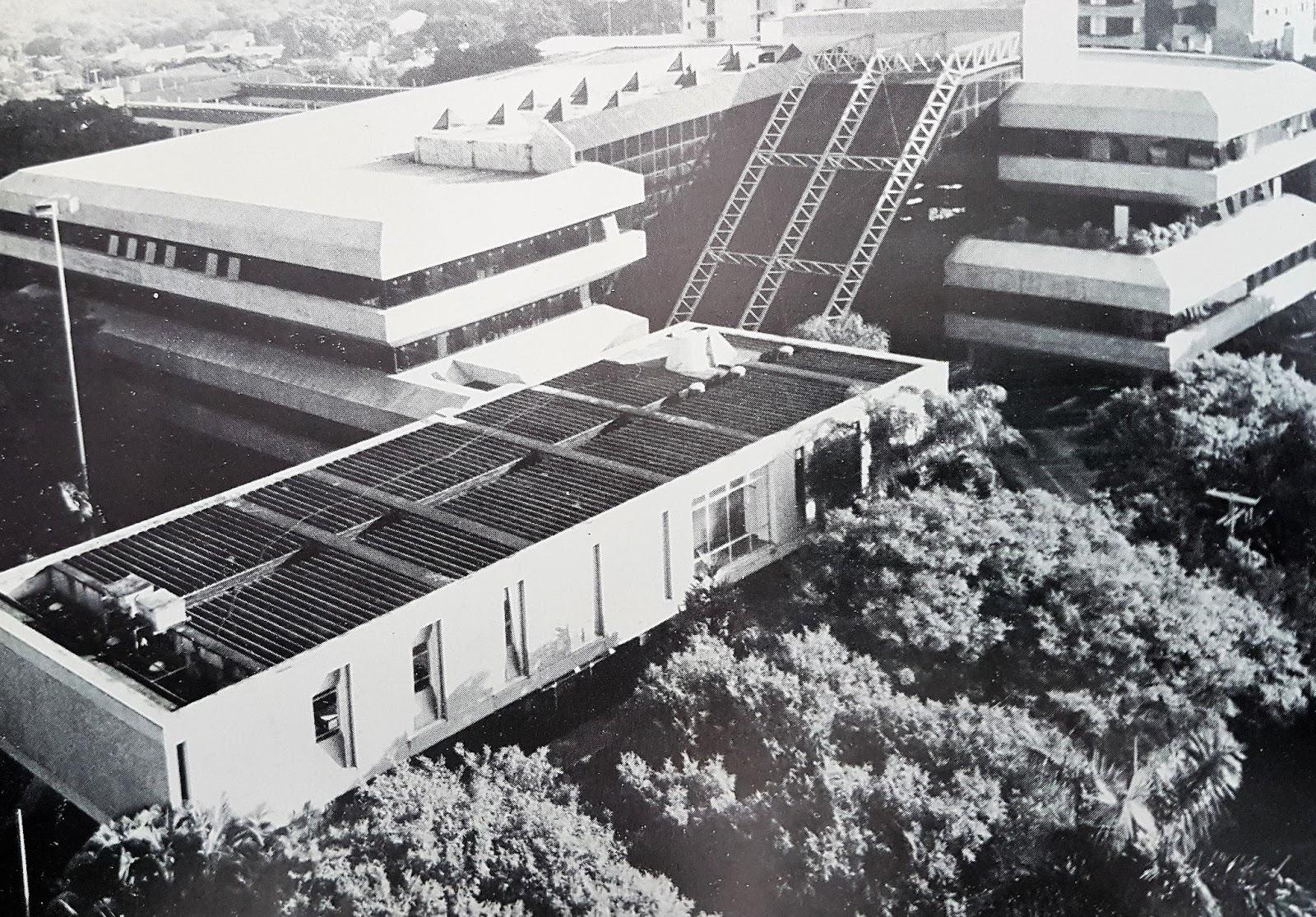 Paço Municipal Silvio Magalhães Barros - Década de 1980
