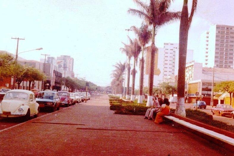 Avenida Getúlio Vargas - 1975