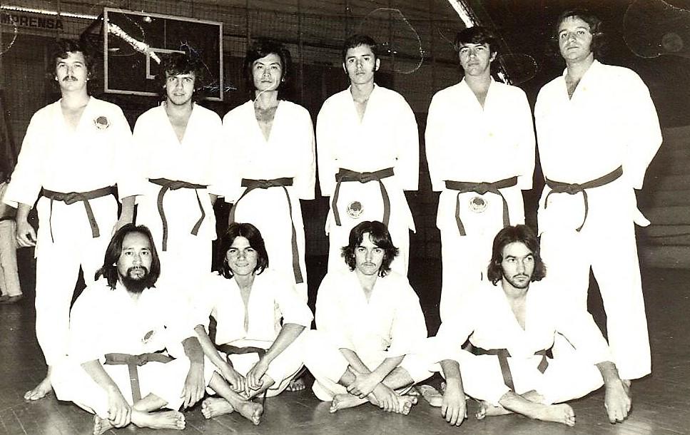 Equipe de Taekwondo - 1974