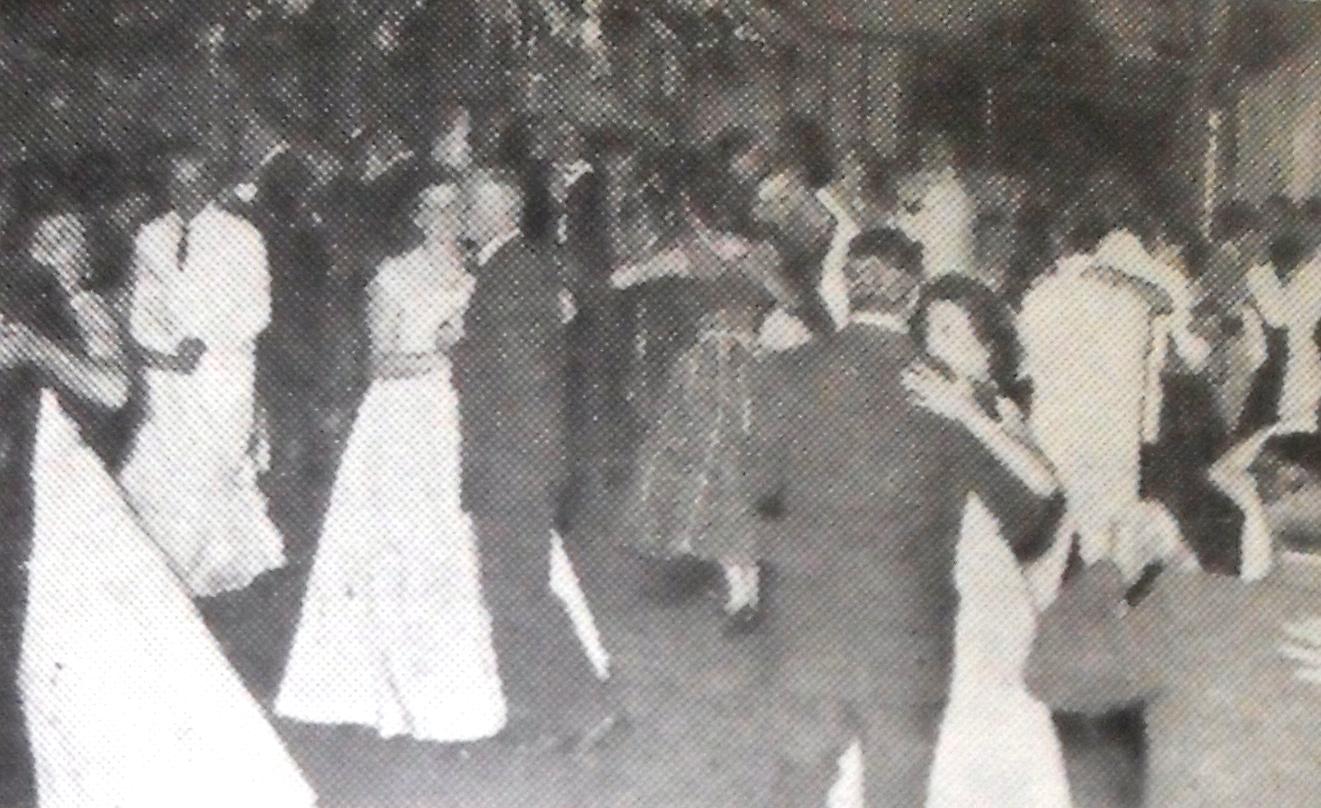 Baile da vitória em 1952: Aero Clube de Maringá