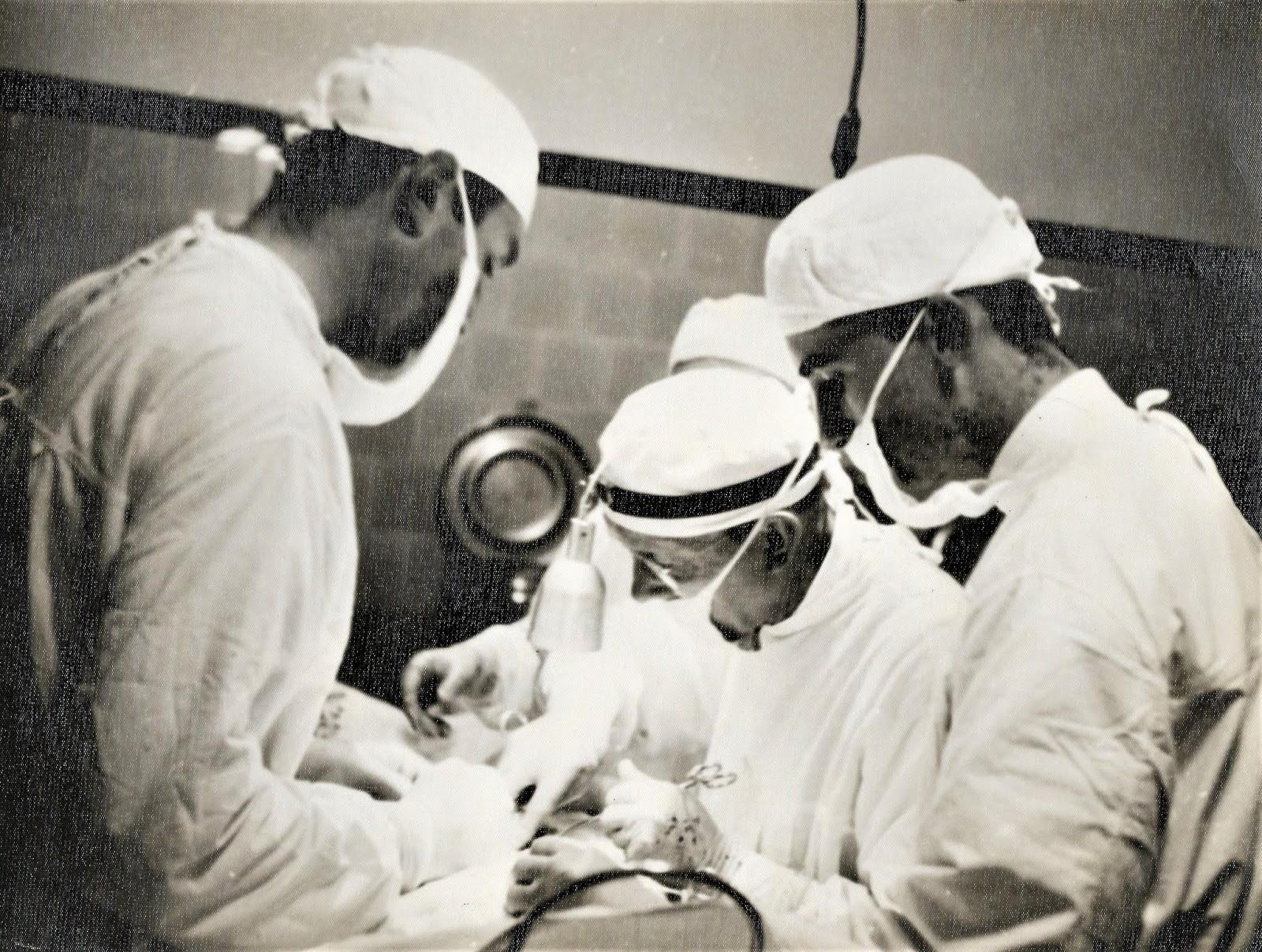 1ª cirurgia em 1955