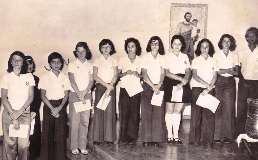 Entrega de diplomas - Colégio Santo Inácio - 1976