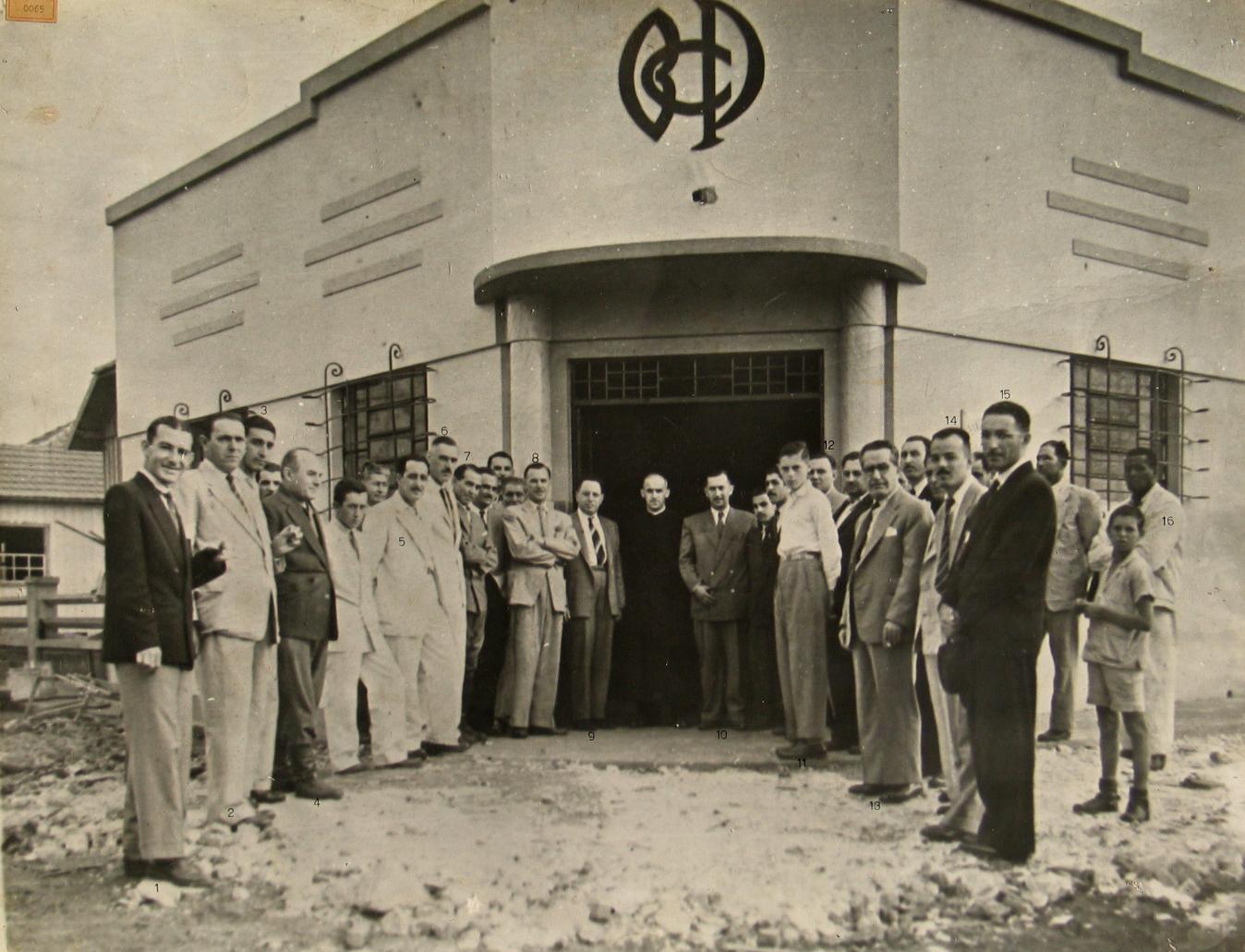 Inauguração do Banco Comercial do Paraná - 1948