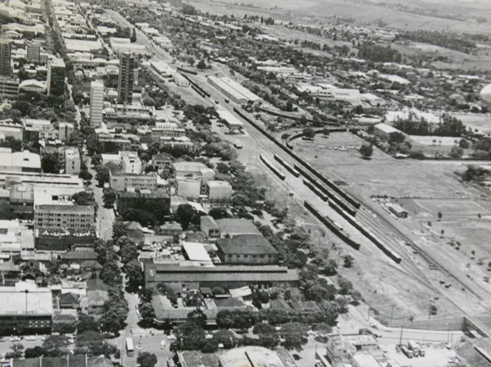 Pátio de Manobras - Década de 1960