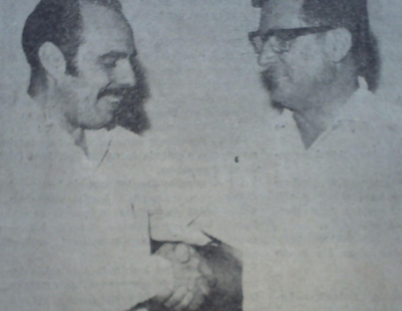 Transmissão de cargo na ACIM - 1972