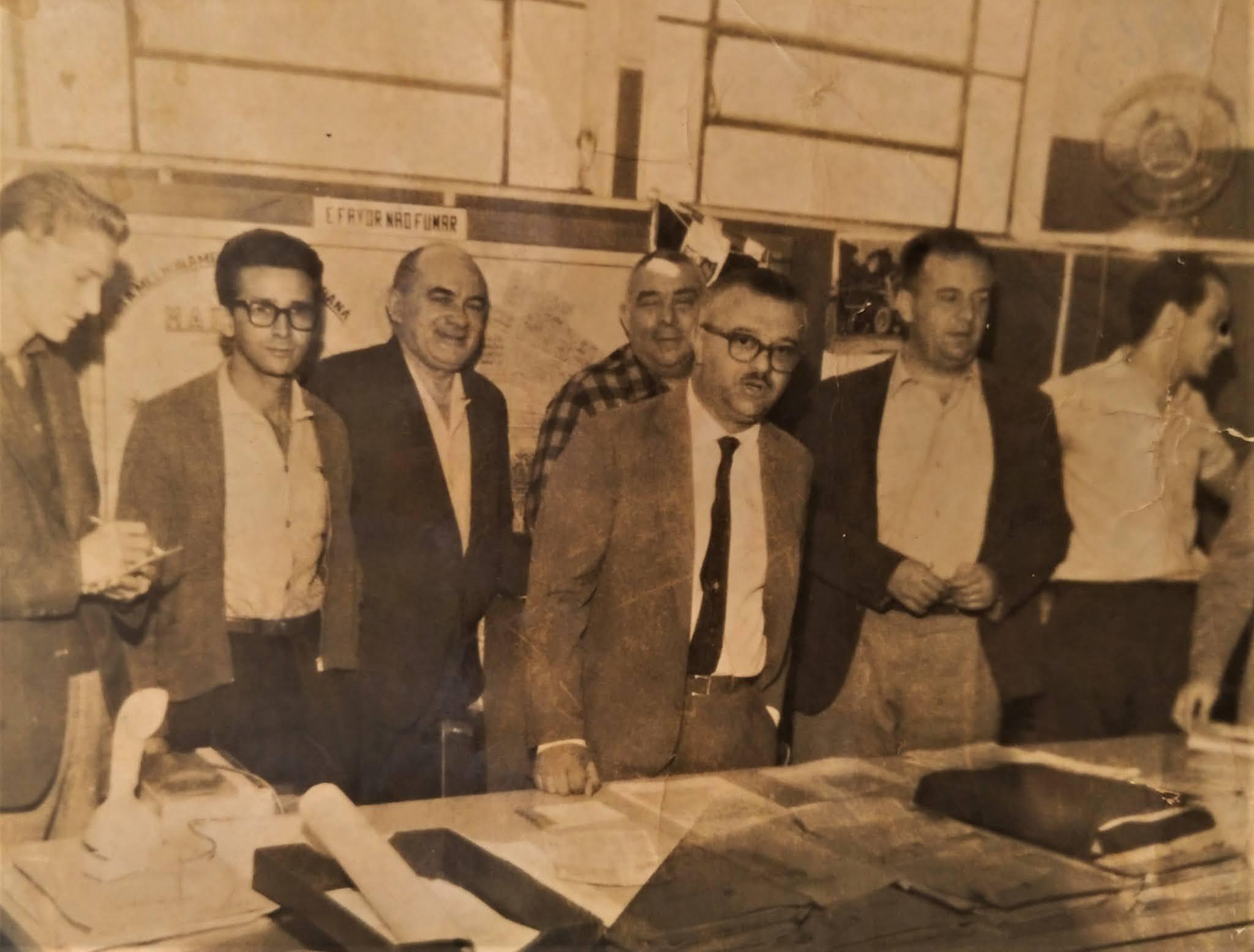 Jornalistas e JP na prefeitura - Anos 1960