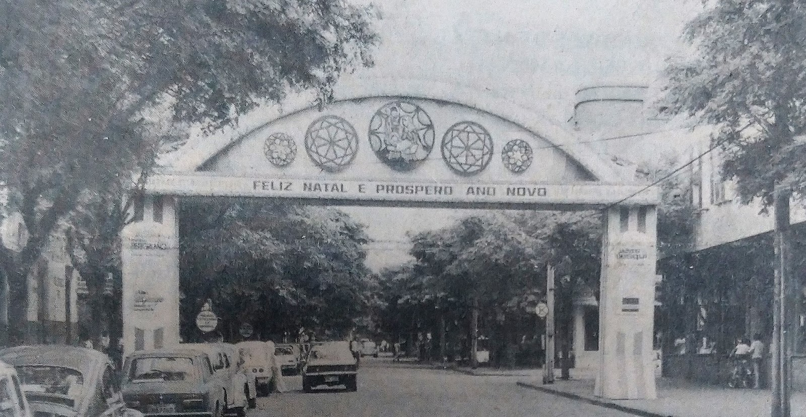 Rua Santos Dumont - Novembro de 1978