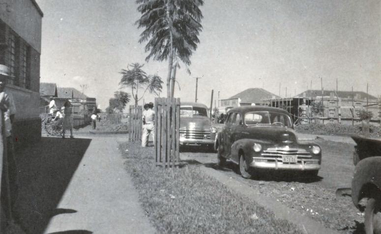Avenida Duque de Caxias - Início dos anos 1950