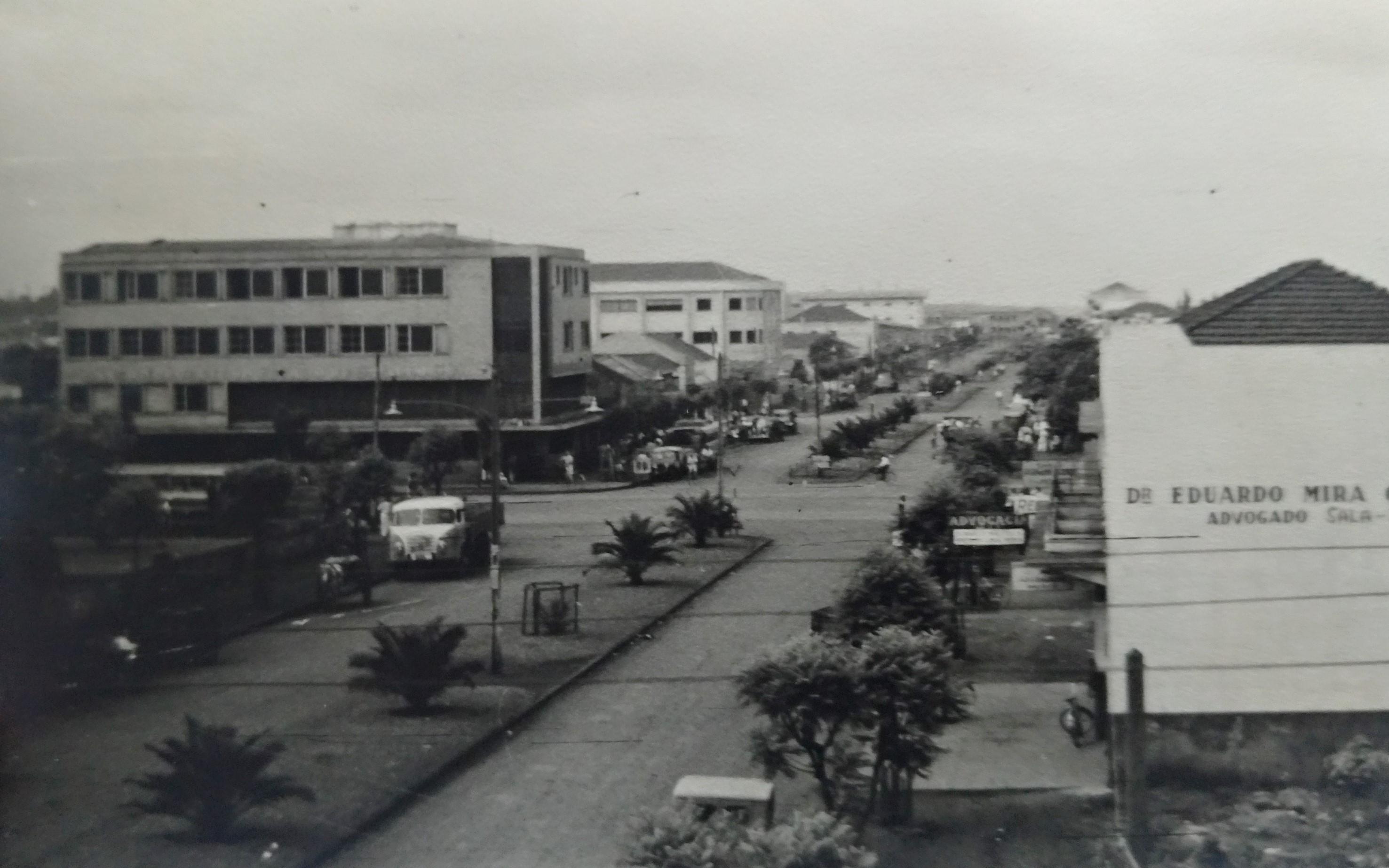 Avenida Duque de Caxias - Anos 1950