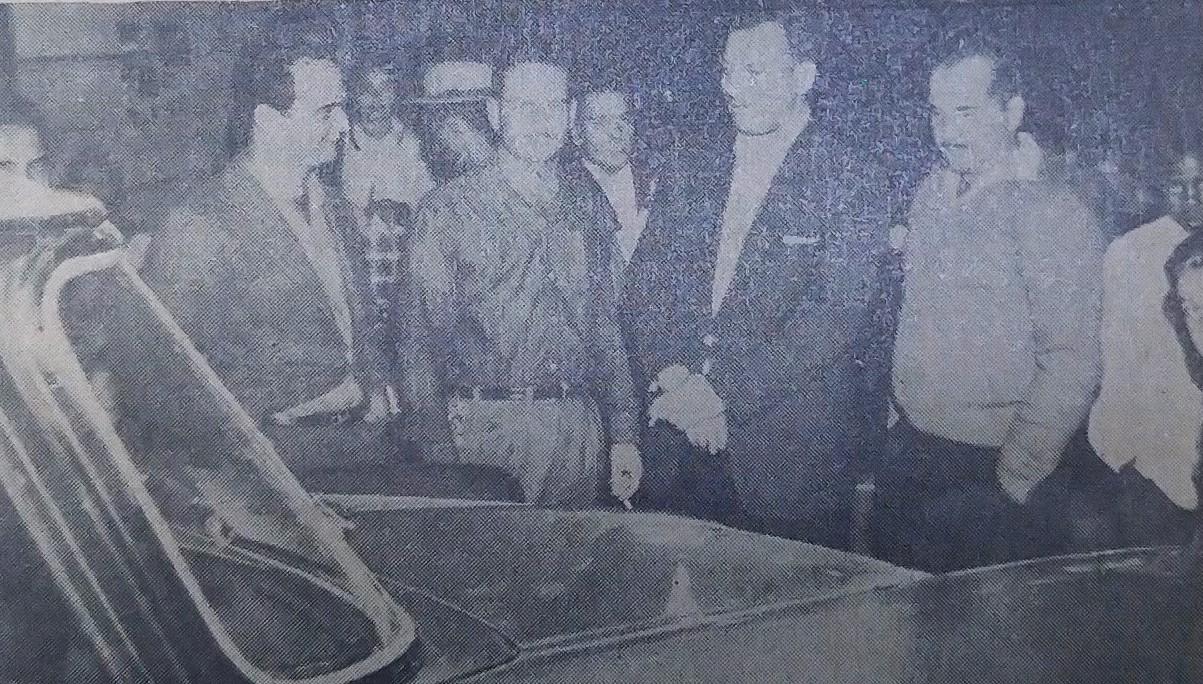 Disma na 1ª Exposição Comercial e Industrial de Maringá - 1962