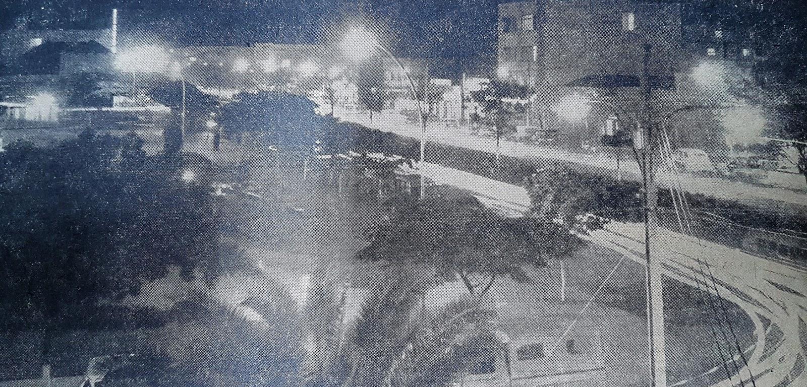 Iluminação noturna - 1964