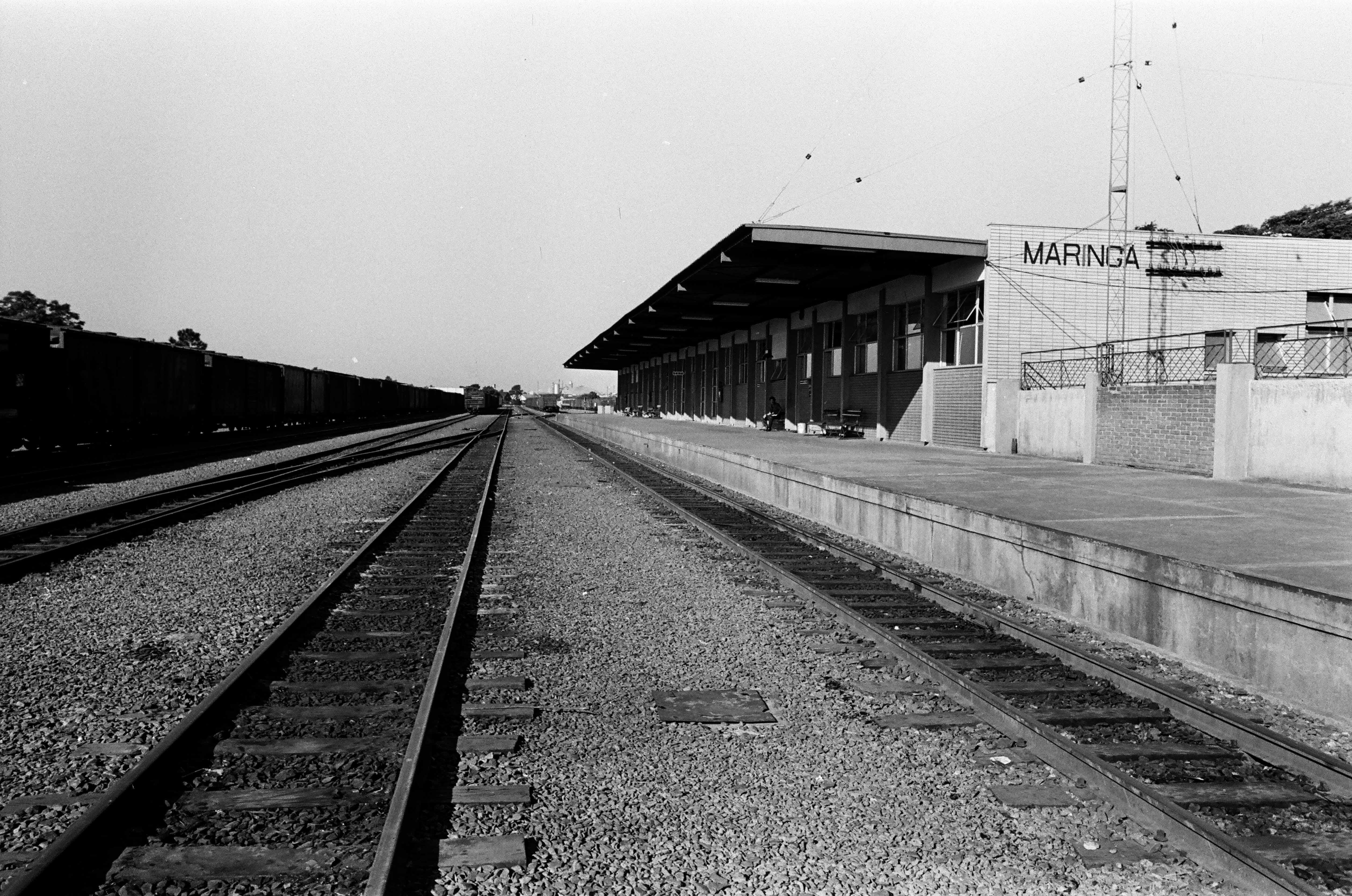 Estação Ferroviária - Anos 1970