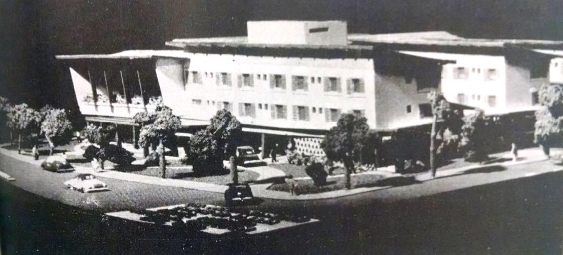 Outra visão - Maquete do Grande Hotel Maringá