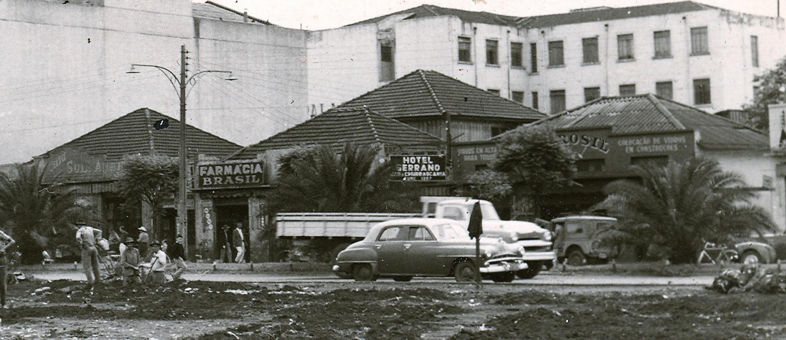 Avenida Duque de Caxias - Outubro de 1959