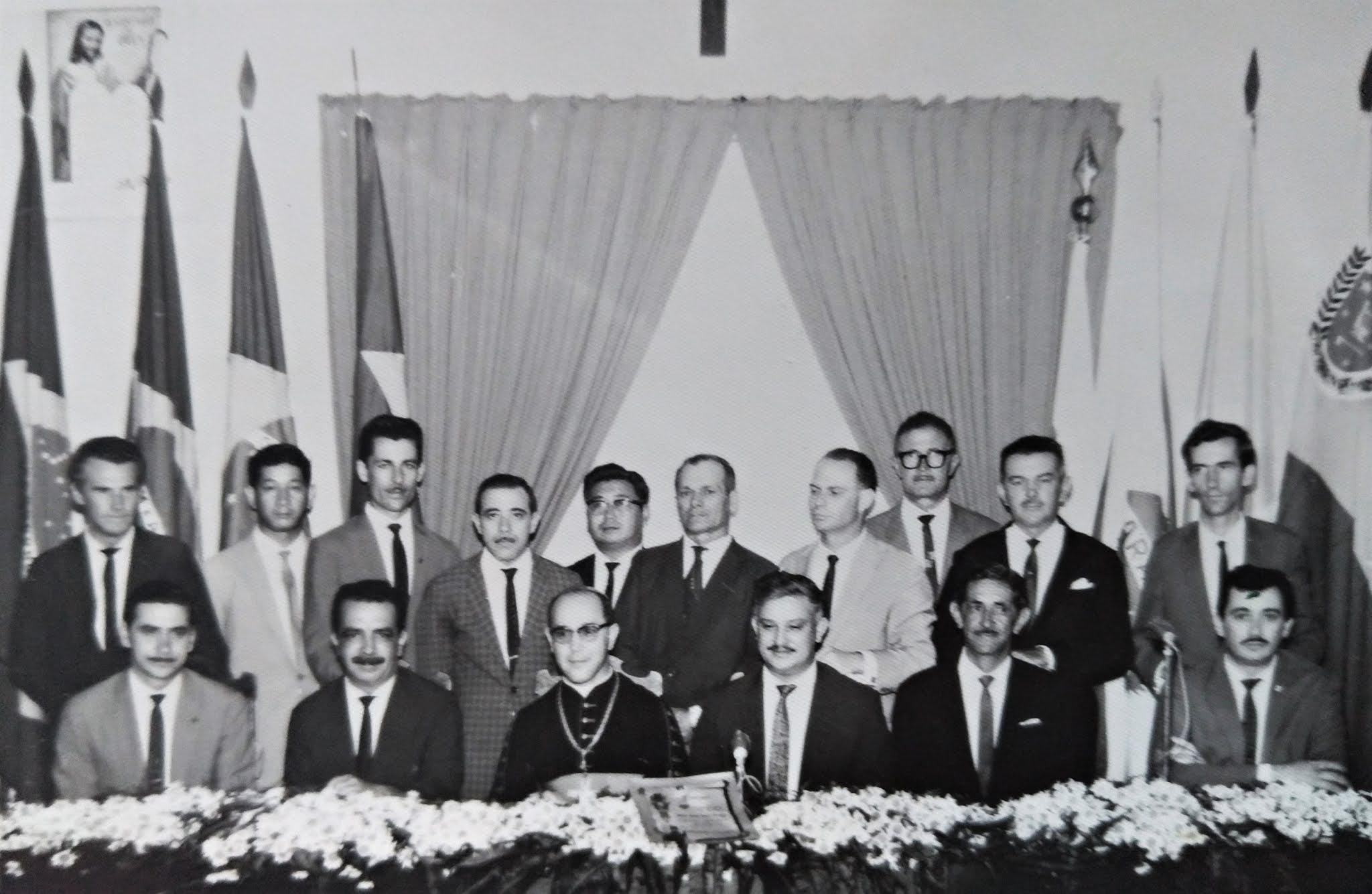 Vereadores, prefeito e bispo de Maringá - Anos 1960