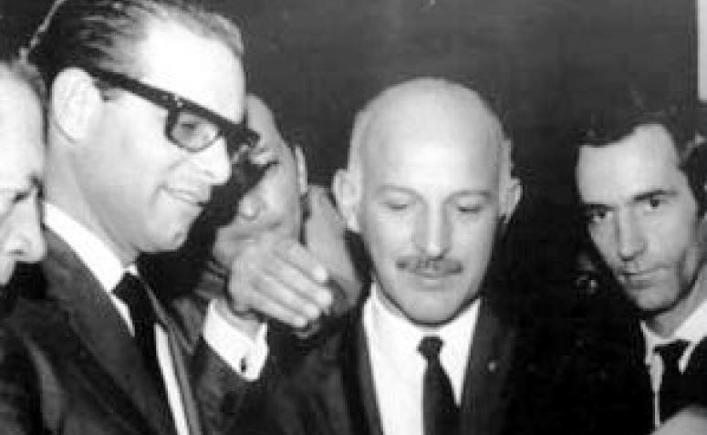 Adriano Valente e Paulo Pimentel - Década de 1960
