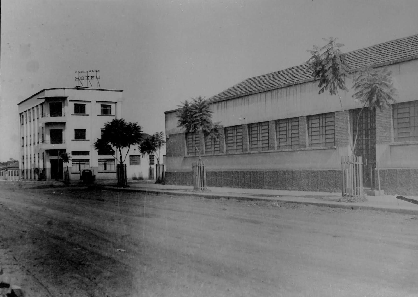 Rua Bandeirantes - Década de 1950