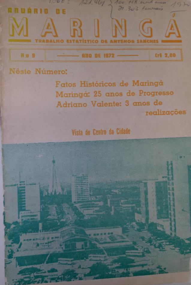 Anuário de Maringá, de 1972