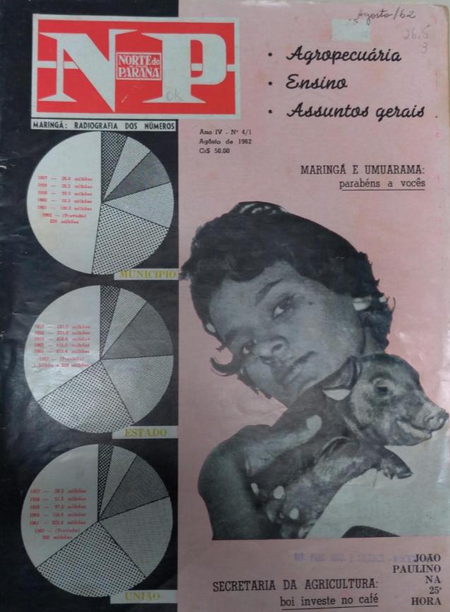 Norte do Paraná em Revista, de agosto de 1962