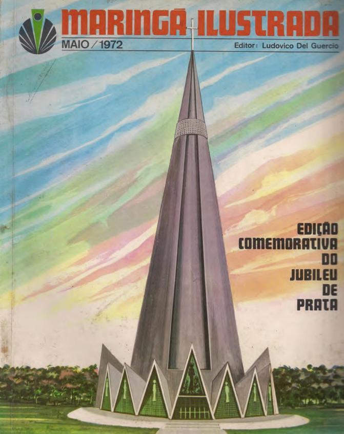 Revista Maringá Ilustrada, de maio de 1972