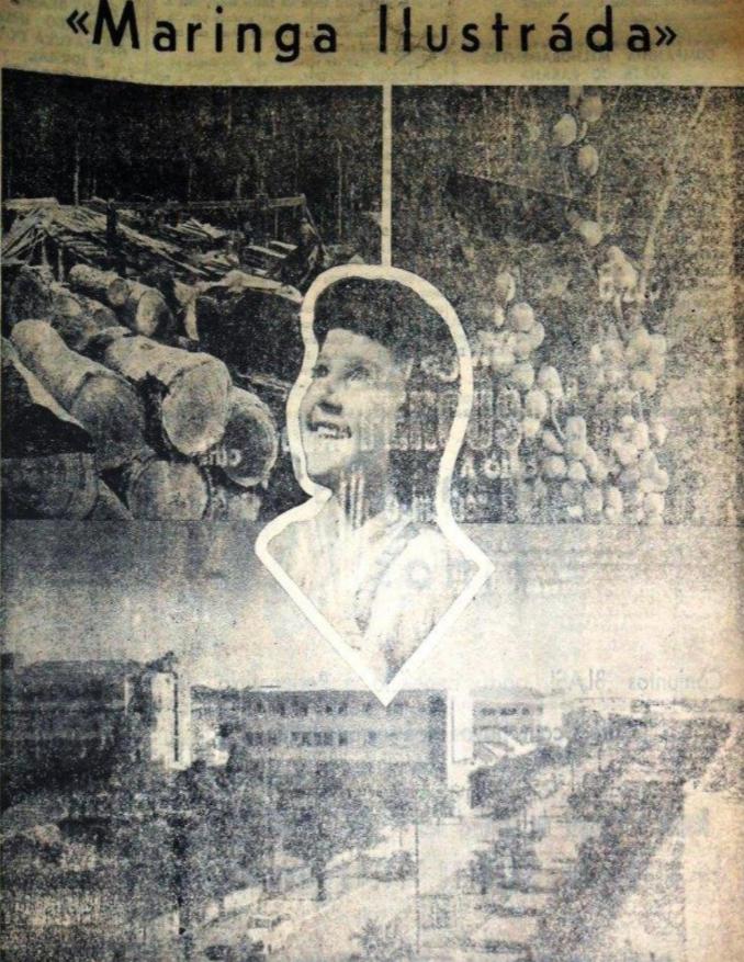 Revista Maringá Ilustrada, de agosto de 1957
