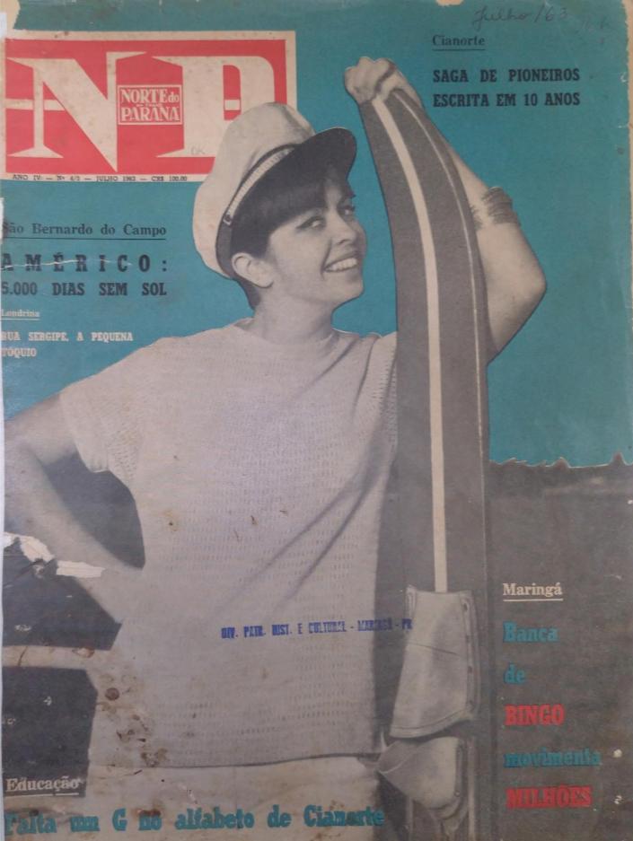 Norte do Paraná em Revista, de julho de 1963
