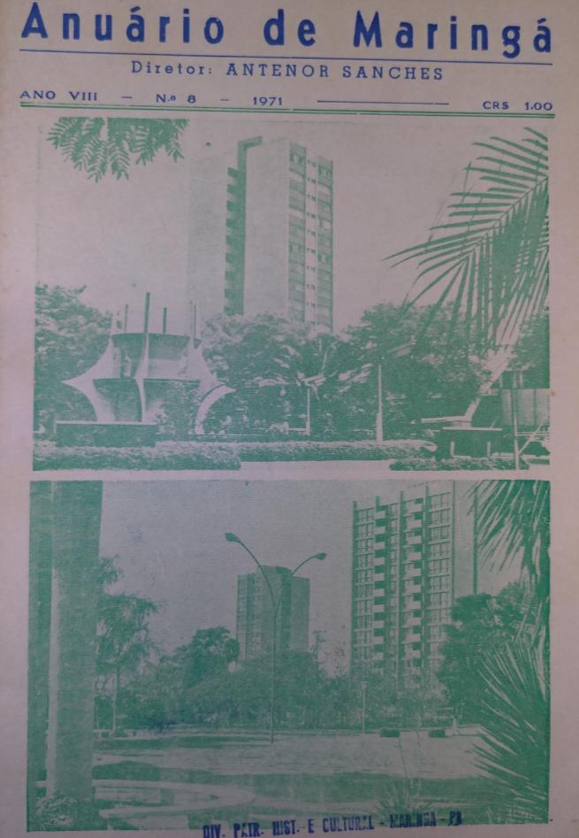 Anuário de Maringá, de 1971