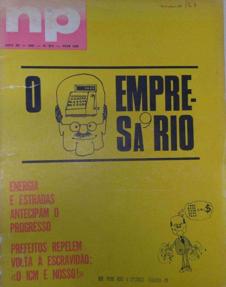 NP (Norte do Paraná em Revista), de maio de 1967