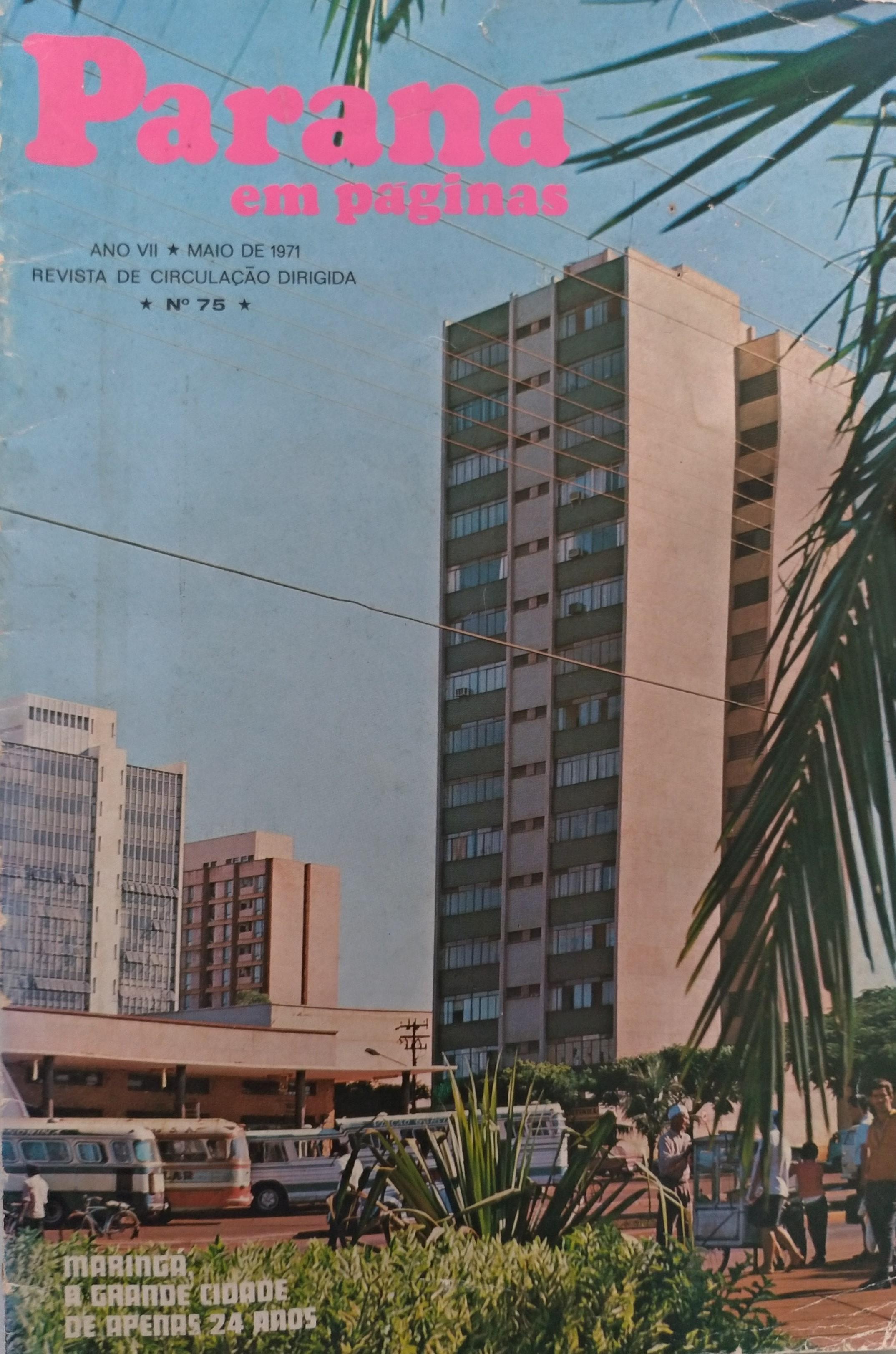 Paraná em Páginas, de maio de 1971