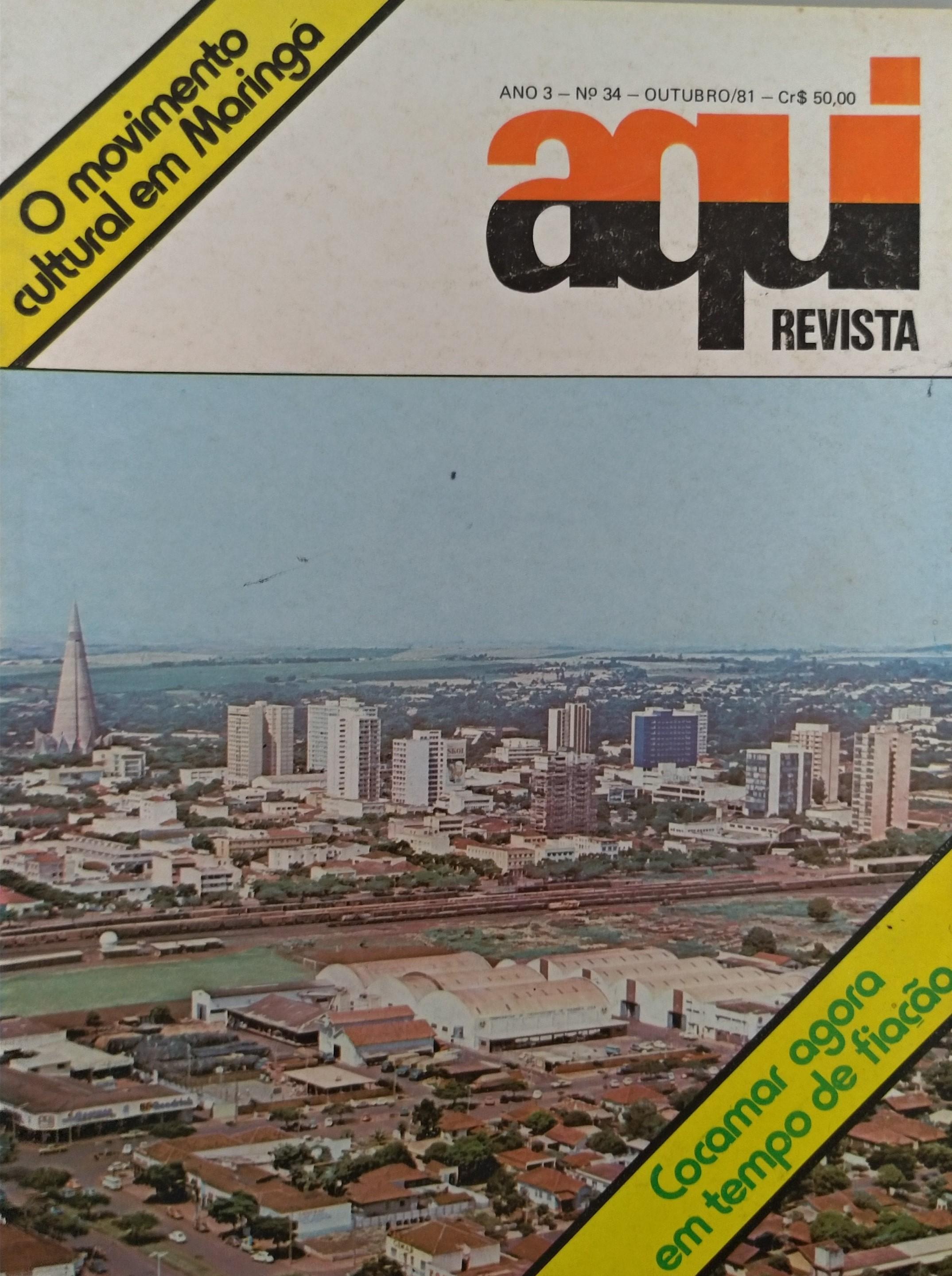 Revista Aqui, de outubro de 1981